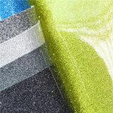 Glänzende Spiegel-Oberfläche PU-materielles Leder für Fußbekleidung-Herstellung