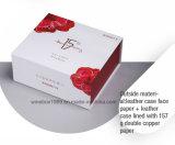 Rectángulo de papel simple cómodo del cosmético del rectángulo de la cartulina de Eco