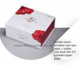 Einfache elegante Vierecks-Papier-Pappkosmetischer Geschenk-Kasten