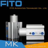 Do dobro padrão modelo do ISO 15552 de DNC Festo cilindro pneumático ativo