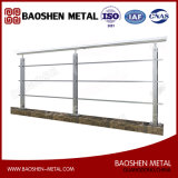 Fabricación de metal que procesa la barandilla del carril de cerca