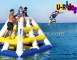 Float Water Floating with Triangle Slide for Water Park