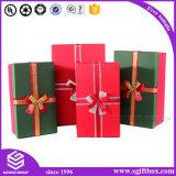 Бумажная коробка подарка упаковывая платье шарфа связи Cand
