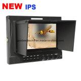 El panel inconsútil del IPS del interruptor monitor de la difusión de 7 pulgadas para la cámara