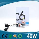 高い内腔Canbus誤りが無い機能LEDヘッド電球が付いている12ボルト車LEDのヘッドライト