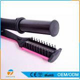 2 in 1 raddrizzatore dei capelli di buona qualità e bigodino di capelli elettrici di ceramica