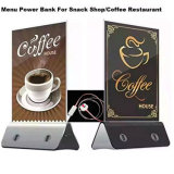 LED Light 4-USB 13000mAh Coffee Shop Mobile Phone Power Bank