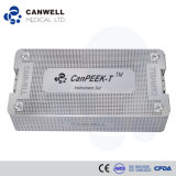Peek Cage Canpeek-T Tlif Orthopedic Implant Spine Instrumento quirúrgico Bone Cement