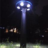 Im Freien dekoratives Solarplastikweiß des garten-Licht-LED