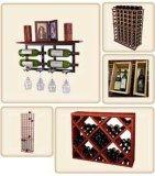Crémaillère neuve et innovatrice de cave de Modules de vin de modèles de résidentiel au film publicitaire