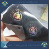 Étiquette de estampage chaude de Anti-Contrefaçon personnalisée de modèle en roulis