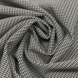 75D de 4-manier Houndstooth van de polyester de Kation Gemengde Stof van Spandex voor de Borrels van Kledingstukken