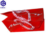 Sacchetto di acquisto non tessuto tessuto pp rivestito con la maniglia del ricamo
