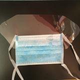 Устранимый медицинский лицевой щиток гермошлема с экраном для управления инфекции