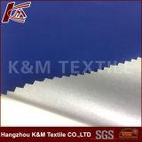 Tela al aire libre impermeable 100% de la pongis del poliester con la membrana de la perla de la hebra