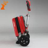 In het groot Volwassen Wiel 3 die de Elektrische Gevouwen Autoped van de Mobiliteit vouwen Autoped