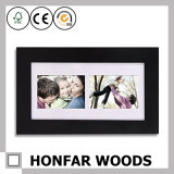 Vertoning 8 de Zwarte Houten Omlijsting van Foto's voor de Decoratie van het Huis