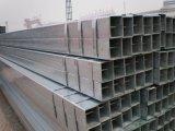 까만 사각 관 온화한 강철 사각 구렁 단면도 가구 관