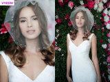 Новая приходя вуаль типа краткости вуали венчания Bridal