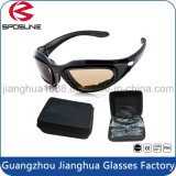 Hohe Auswirkung-kühlen schützende Schießen-Gläser Schutzbrillen mit harten Fall-Schaumgummi-Sonnenbrillen für Militärbereich-Sicherheits-Sonnenbrillen ab