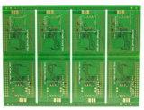 cortinas da placa de circuito impresso Multilayer de 1.6mm enterradas através da placa do PWB