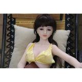 Hochwertige 65cm kleine Silikon-Liebes-Puppe-Minigeschlechts-Puppe mit dem Metalskelett