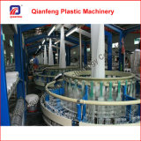 Fabricación circular plástica de la máquina del telar de cuatro lanzaderas