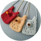 Borse Handmade animali dei capretti del sacchetto di spalla dei bambini all'ingrosso