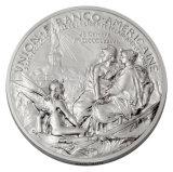 柔らかいエナメルの高品質の昇進のイベントの金属の銀メダル