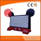 Schermo di pubblicità gonfiabile esterno S1-002 del cinema della tela incatramata durevole del PVC