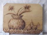Семья конструкции цветка груши естественная украшает картину холстины