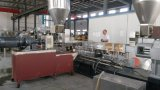 PVC/Aluminum 밀어남 Tse 35b에 있는 쌍둥이 나사 압출기의 실험실 플라스틱 만드는 기계