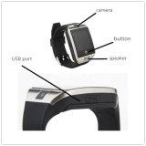 Baixo telefone esperto do relógio do preço 3G com câmera e cartão de SIM