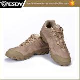 Sapatas ao ar livre do exército do deserto tático para caminhar e viajar