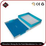 Rectángulo de regalo de papel de empaquetado modificado para requisitos particulares