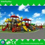 Спортивная площадка скольжения парка атракционов оборудования спортивной площадки детей напольная