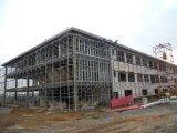 Le coût bas Pré-A fait l'entrepôt industriel de structure métallique