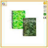 Impresión barata del cuaderno del Alambre-o de la escuela del libro de papel del estudiante del bulto A4