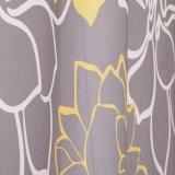 Tenda di acquazzone impermeabile stampata fiore della stanza da bagno del tessuto del poliestere (03S0007)