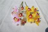 Flores artificiales hermosas del Phalaenopsis para la decoración del hogar