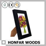 """bâti en bois de photo d'illustration de noir de bureau de la décoration 5 """" X7 """""""