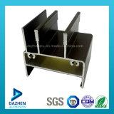 Profil en aluminium en aluminium d'extrusion de vente directe d'usine pour la porte de guichet
