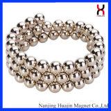 5mm silbernes Goldbunte starke permanente magnetische Kugel