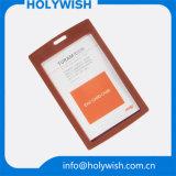 El OEM de los diseños de la tarjeta de visita valida el portatarjetas conocido de la identificación