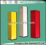 Bunte Dekoration-materielle v-förmige Metallstreifen-Decke