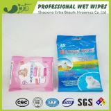 Trapos mojados del animal doméstico antibacteriano de la limpieza del OEM para la limpieza del perro y del gato
