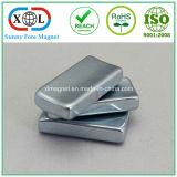 亜鉛コーティングの試供品のNdFeBの磁石
