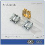 Kundenspezifisches Präzisions-Wand-Kontaktbuchse Soem-Metall, das Autoteile stempelt