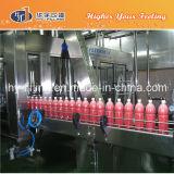 Máquina rotatoria del relleno en caliente del jugo de la botella del animal doméstico