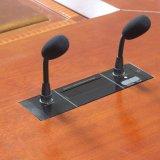 Microphone encastré de conférence avec deux le microphone Rod Se528c Singden